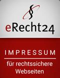 erecht24 siegel impressum rot 1